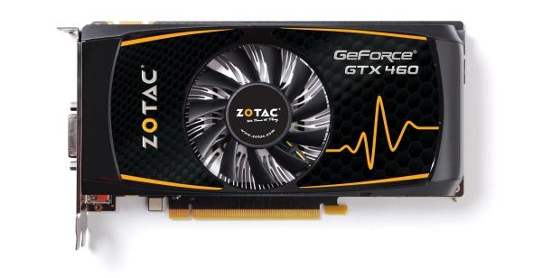 gtx460se zotac 1 dh fx57 - Zotac, GeForce GTX 460 SE modelini tan�tt�