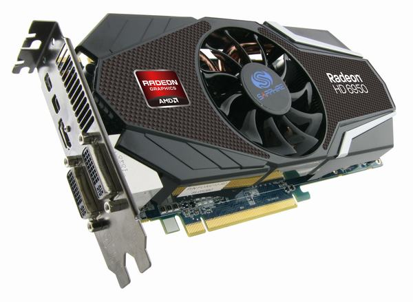 AMD 1GB GDDR5 bellekli Radeon HD 6950 modelini kullanıma sundu