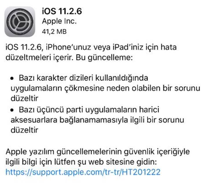 iphone yazılım güncelleme paralımı