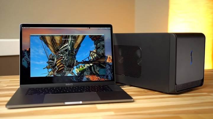 macOS artık harici GPU desteği sunuyor