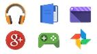 Yeni Android ikonları