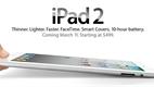Apple iPad 2 (resmi fotoğraflar)