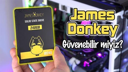 "James Donkey SSD'lere güvenebilir miyiz? ""JD240 SSD incelemesi"""