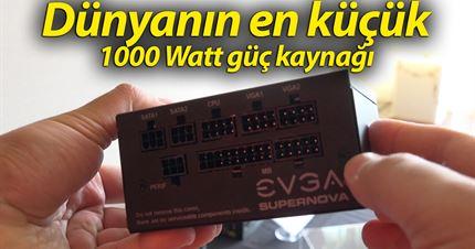 Dünyanın en küçük 1000W güç kaynağı