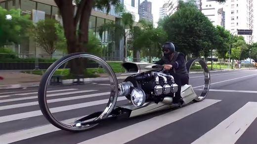 Rolls-Royce imzalı uçak motoruna sahip motosiklet: TMC Dumont