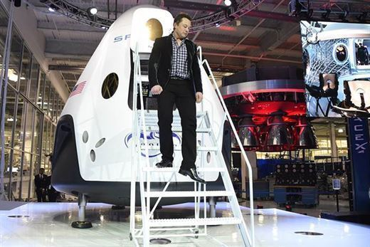 SpaceX announced the start of long-distance human transport