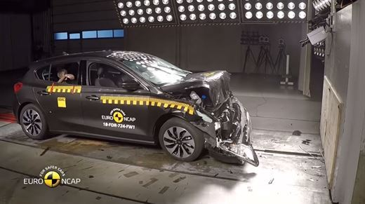 Loss of its forefront of the 2018 Ford Focus crash tests