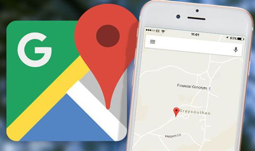Google Maps Location Sharing feature can tell you that you've finished lifting your loved ones