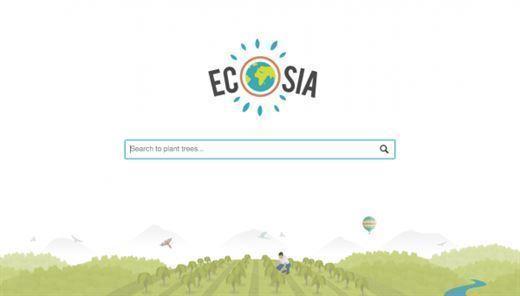 Ecosia: Tek tıkla ağaç dikin