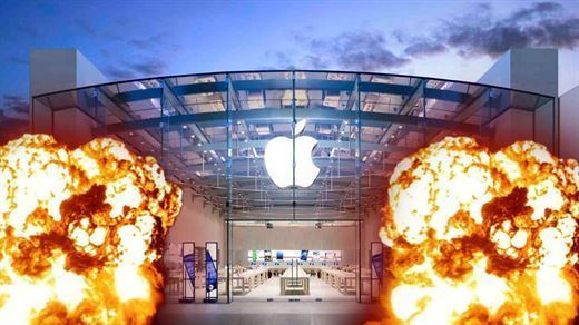 Apple Store'da aşırı ısınan iPad bataryası reaksiyon gösterdi: 3 kişi yaralandı!