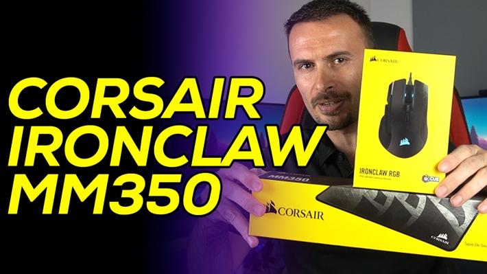 Böyle fareye böyle mousepad   Corsair IRONCLAW ve MM350 XL inceleme