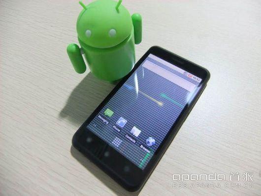 apanda a70 1 dh fx57 - Apanda, Android 3.0 i�letim sistemli telefon haz�rl�yor