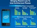 Intel'in Medfield tabanlı akıllı telefon/tablet işlemcisi Atom Z2610 olarak isimlendirildi