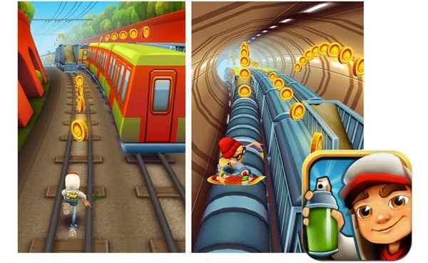Subway Surfers' ile tren