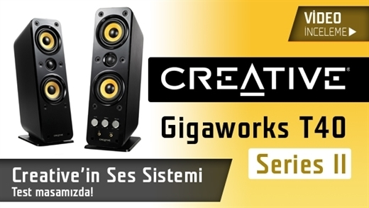 Creative Gigaworks T40 Series II video inceleme