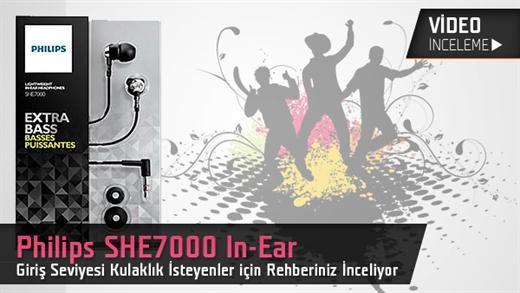Philips In-Ear SHE7000 Test Masamızda