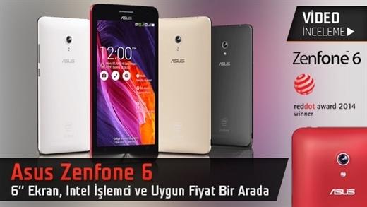 """Asus Zenfone 6 akıllı telefon video inceleme """"Büyük, iddialı ve uygun fiyatlı"""""""