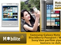 Mobilite: Galaxy Note IV, iPhone 6, BB Passport, WP'lu HTC M8 ve dahası...