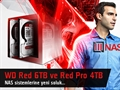 WD Red 6TB & Red Pro 4TB NAS Diskleri Video İnceleme