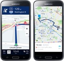 HERE haritalar Galaxy akıllı telefonlarına özel indirmeye sunulacak