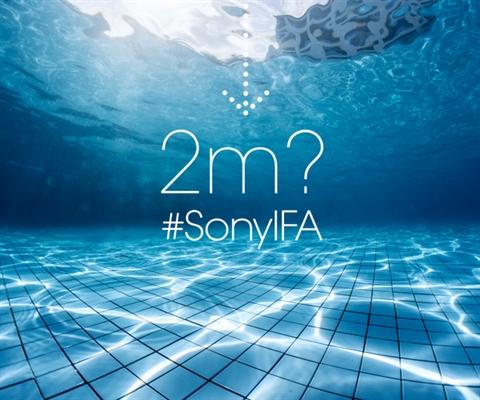 Sony suya dayanıklı akıllı telefonlarda çıtayı yükseltiyor