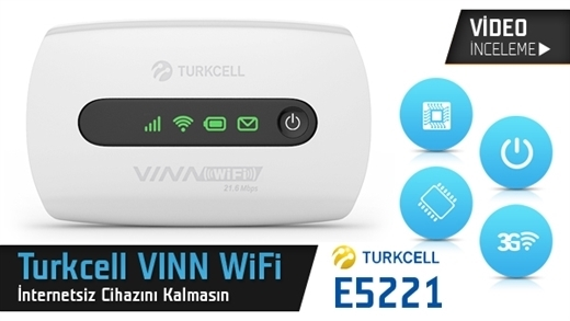 Turkcell Vınn WiFi Modem Video İnceleme
