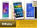 Mobilite: Huawei Ascend G7, Samsung Galaxy Note 4, Sony Xperia Z3 Compact ve cihaz akını...
