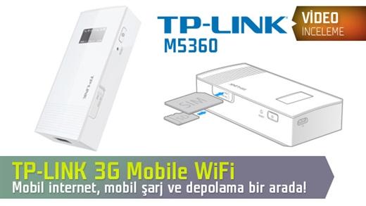 TP-LINK 3G Mobile WiFi M5360 Video İnceleme