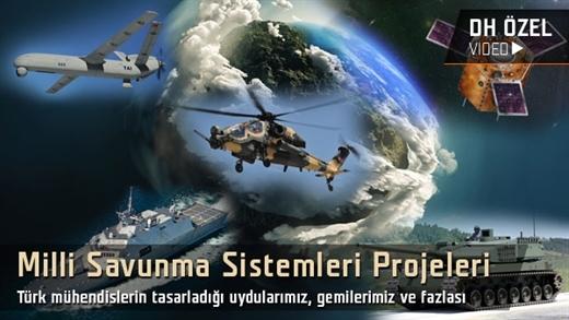 """Milli Savunma Sistemleri Projelerimiz """"Atak, Anka, Milgem, Göktürk-2, Altay"""" Bölüm:1"""