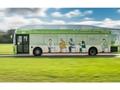 İngiltere'nin ilk biyometan ile çalışan otobüsü testlere başladı