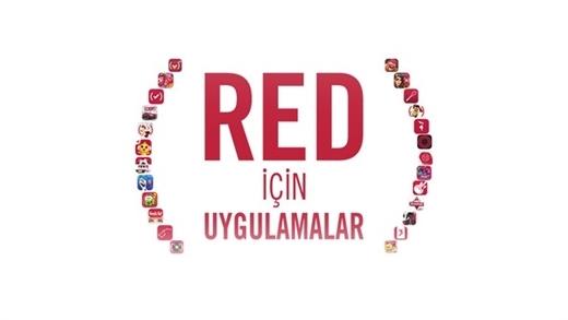 AIDS'le mücadele için pek çok uygulama ve oyun kırmızıya boyandı