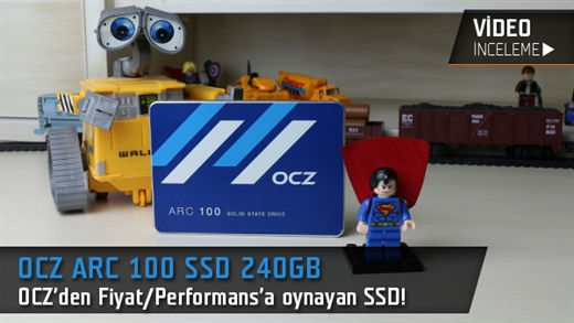 OCZ ARC 100 SSD 240GB Video İnceleme