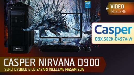 """Casper Nirvana D900 """"Oyuncu Bilgisayarı"""" Video İnceleme"""