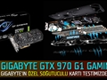 Gigabyte GTX 970 G1 Gaming 4GB Ekran Kartı Video İnceleme