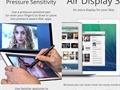 iOS cihazları Mac ve Windows bilgisayarlara harici ekran olarak atayan Air Display'ın 3. sürümü yayınlandı