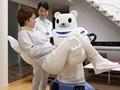 RIKEN ile Sumitomo Riko şirketleri, yeni bir ayı görünümlü deneysel bakım robotu geliştirdi