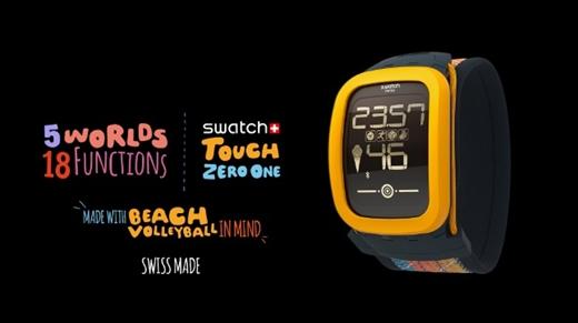Swatch'dan voleybol oyuncularına özel yeni akıllı saat Touch Zero One