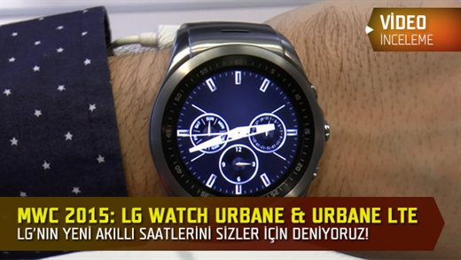 MWC 2015: LG Watch Urbane & Urbane LTE