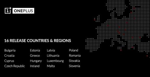 OnePlus Avrupa'da 16 ülkeye daha gönderim yapacak