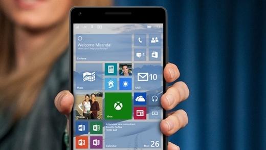 Windows 10 mobil sürümünün yeni teknik ön izleme sürümü daha fazla cihaza destek sunacak