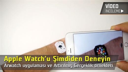 """Apple Watch'u Şimdiden Deneyin """"Arwatch ve Artırılmış Gerçeklik Teknolojisi inceleme"""""""