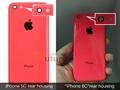 iPhone 6c arka kapağının sızdırıldığı iddia ediliyor