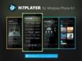 N7 Player Windows Phone için de indirmeye sunuldu