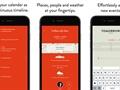 iOS uyulu yeni takvim uygulması: Timepage