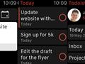 Todoist'in iOS sürümüne Apple Watch desteği eklendi
