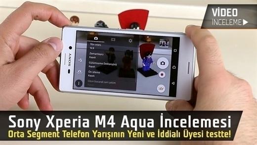 """Sony Xperia M4 Aqua video incelemesi """"Orta segment akıllı telefon yarışının yeni üyesi mercek altında"""""""