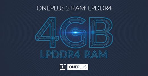 Resmi: OnePlus 2, 4GB RAM ile geliyor