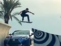 Lexus'un Hoverboard'unu bir de uçarken görün