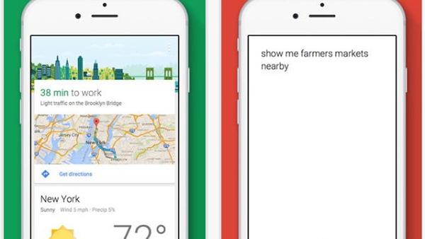 iOS için Google artık daha akıllı