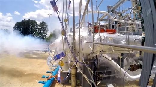 NASA'nın 3D yazıcıdan ürettiği yakıt pompasını zorlu testi başarıyla tamamladı